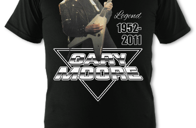 2021 Fundrasing Tees – Gary Moore Logo Series