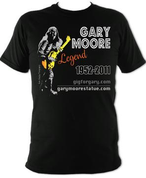 2021 Fundraising Tees – Gary Moore Legend Tee